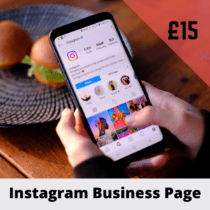 Instagram Business Page