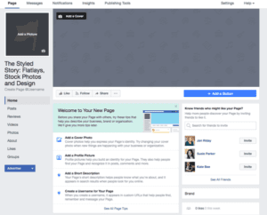 Facebook Business Page Sey Up
