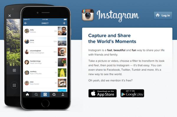 Instagram Page Set up