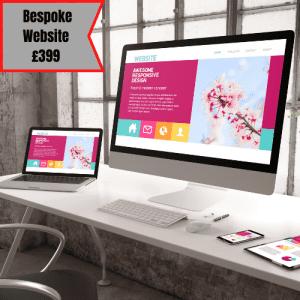 Custom Website Design £399