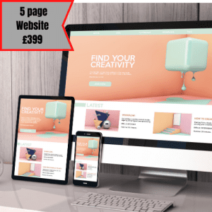 5 Page Website £99