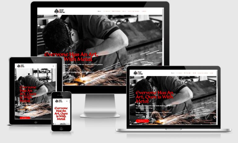 Artist Web Design Swansea