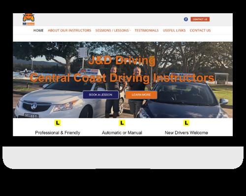 Driving instructor website