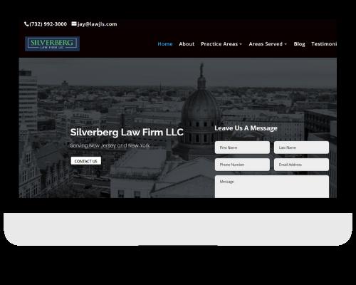 Law frim Website
