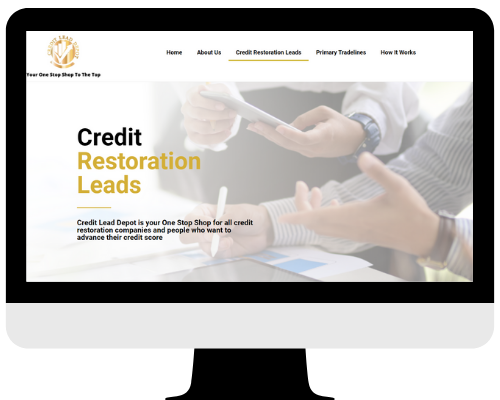 Credit Building Website